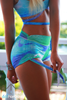 Azure Splash shorts - Arthletic Wear - 1