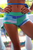 Azure Splash shorts - Arthletic Wear - 5
