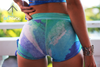 Azure Splash shorts - Arthletic Wear - 3