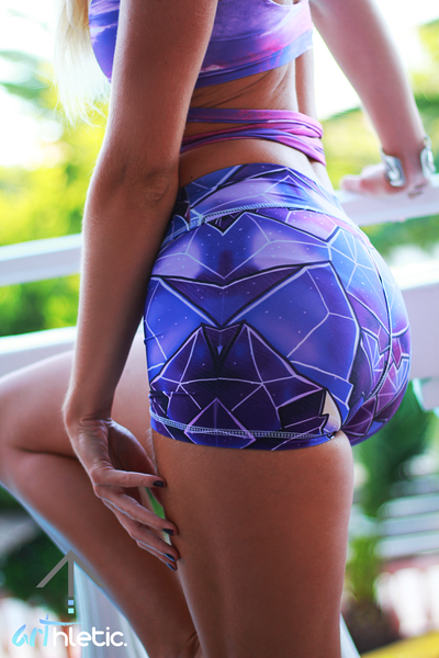 Dark Crystal shorts - Arthletic Wear - 1
