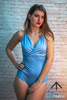 Powder Blue Leotard