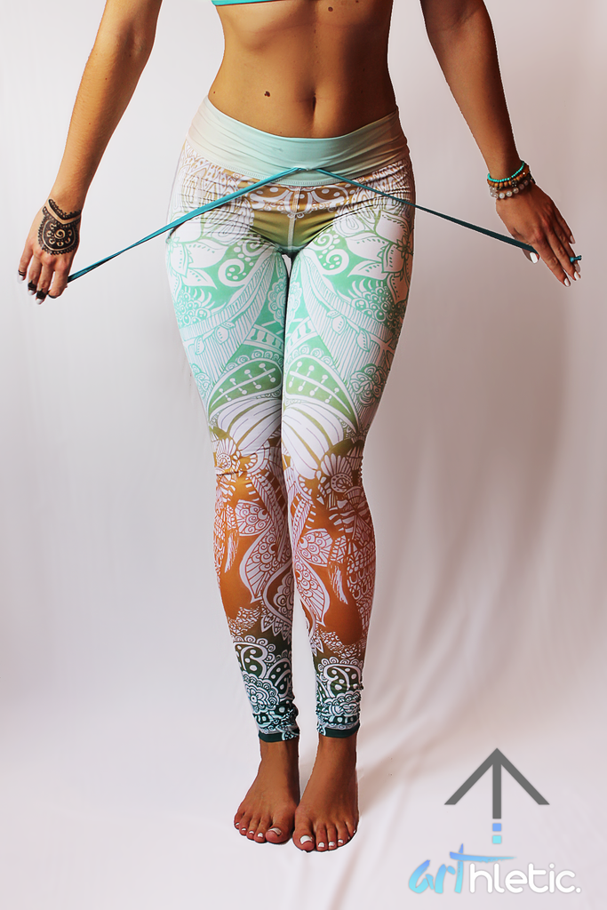 Shanti Leggings - Arthletic Wear - 2