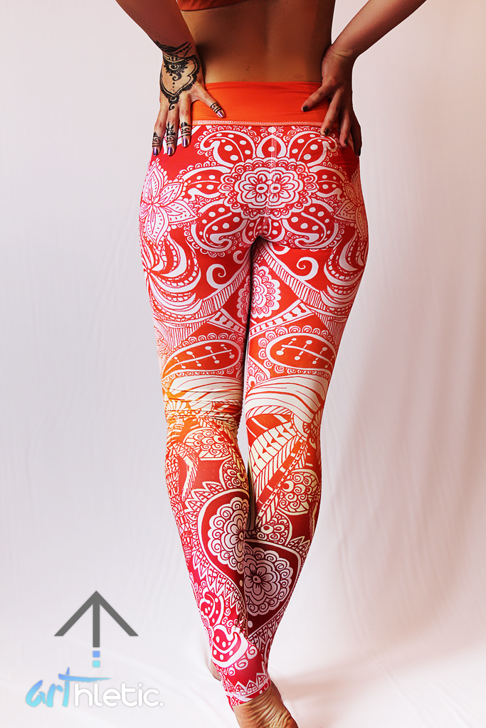Freya Leggings - Arthletic Wear