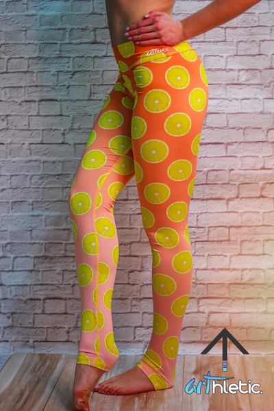 Lemon Cake Leggings