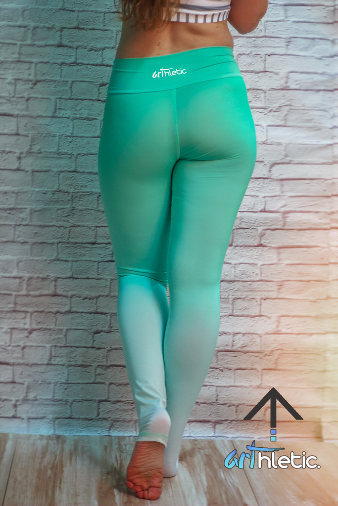 Minty Leggings (FINAL SALE) - Arthletic Wear