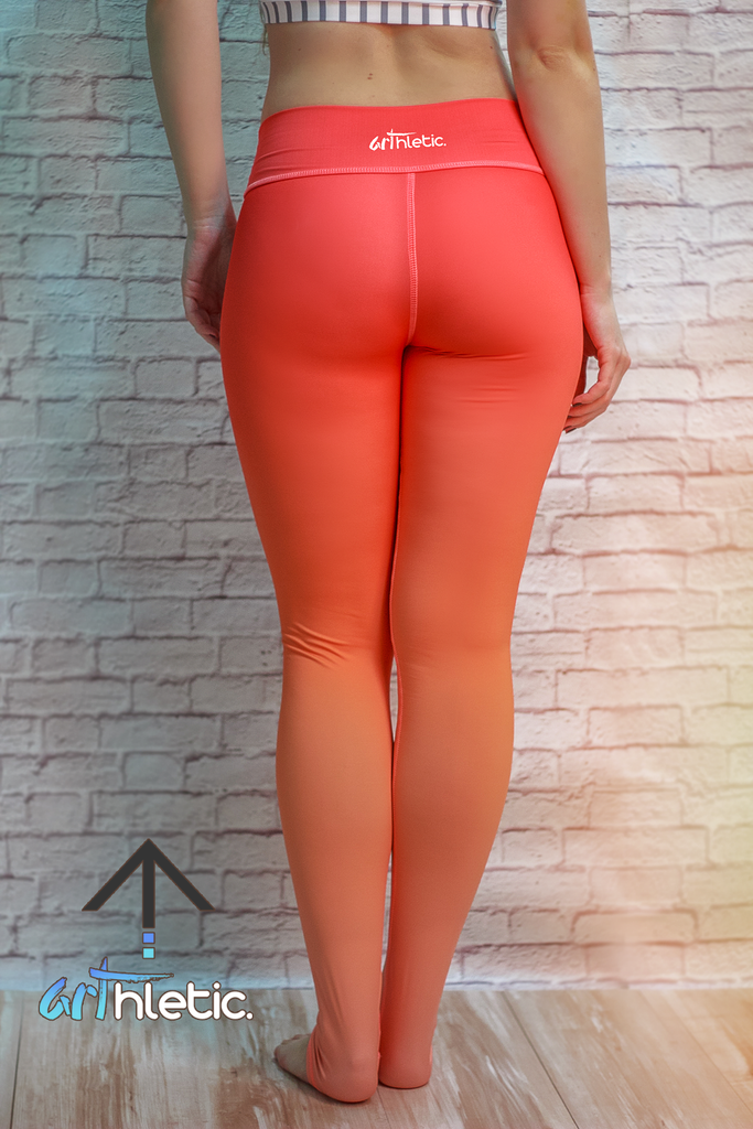Peachy Leggings (FINAL SALE) - Arthletic Wear