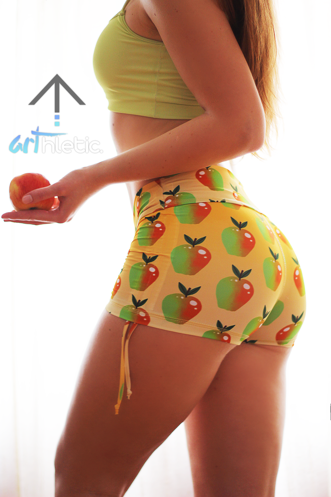 Apple Pie Shorts (XS, S, M, L) - Arthletic Wear