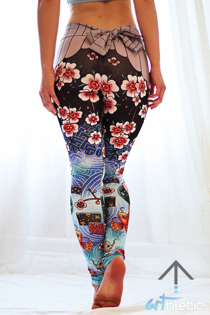 Kimono Leggings - Arthletic Wear