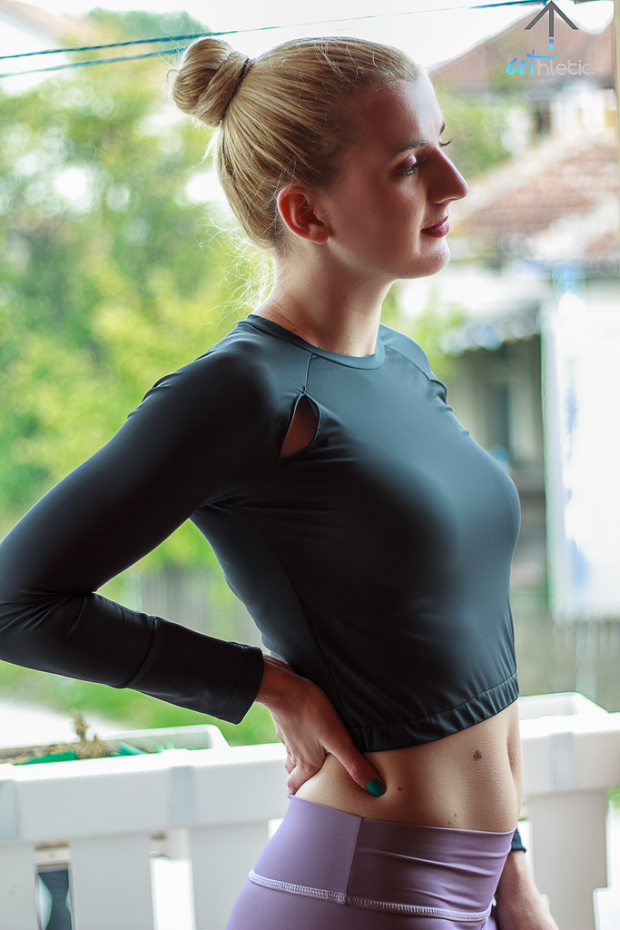 Persephone Top - Universe by arthletic-wear.myshopify.com I Crop Tops I