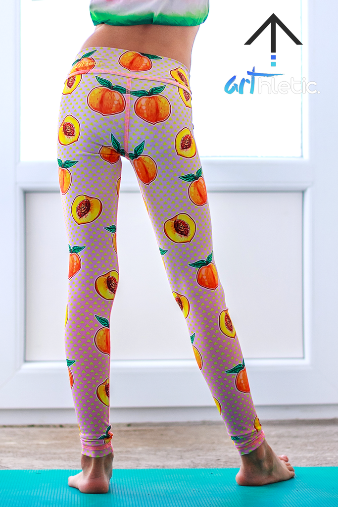 Peachy Booty Mini Leggings - Arthletic Wear