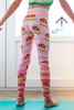 Strawberry Cheesecake Mini Leggings