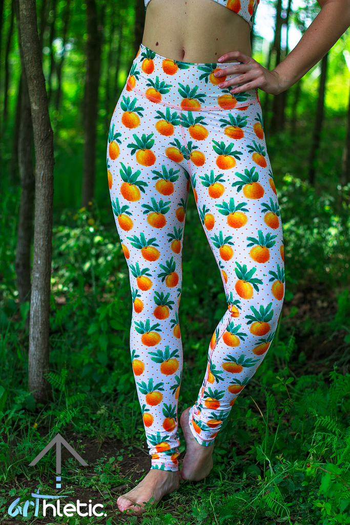 Citrus Leggings - Arthletic Wear