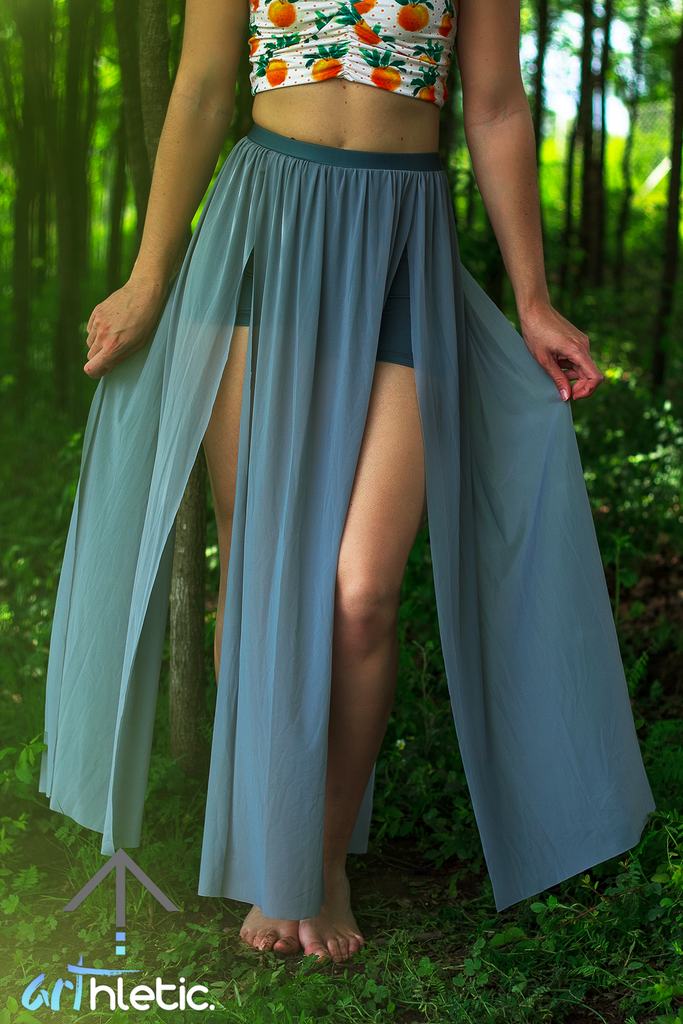 Barbados Goddess Skirt - Arthletic Wear