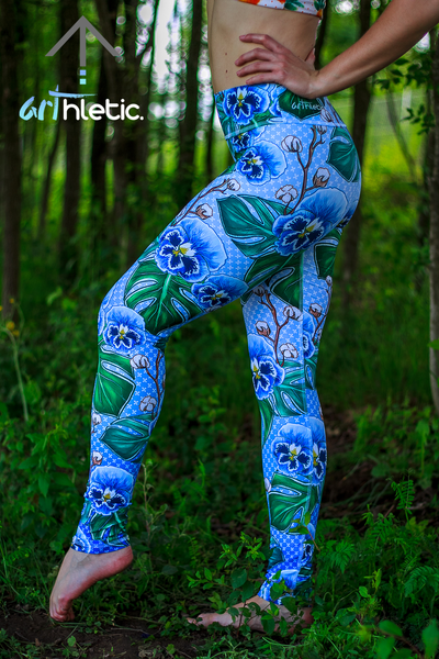 Blue Tansy Leggings