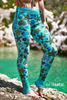 Seashell leggings - Arthletic Wear - 3
