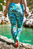 Seashell leggings - Arthletic Wear - 2