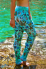 Seashell leggings - Arthletic Wear - 1