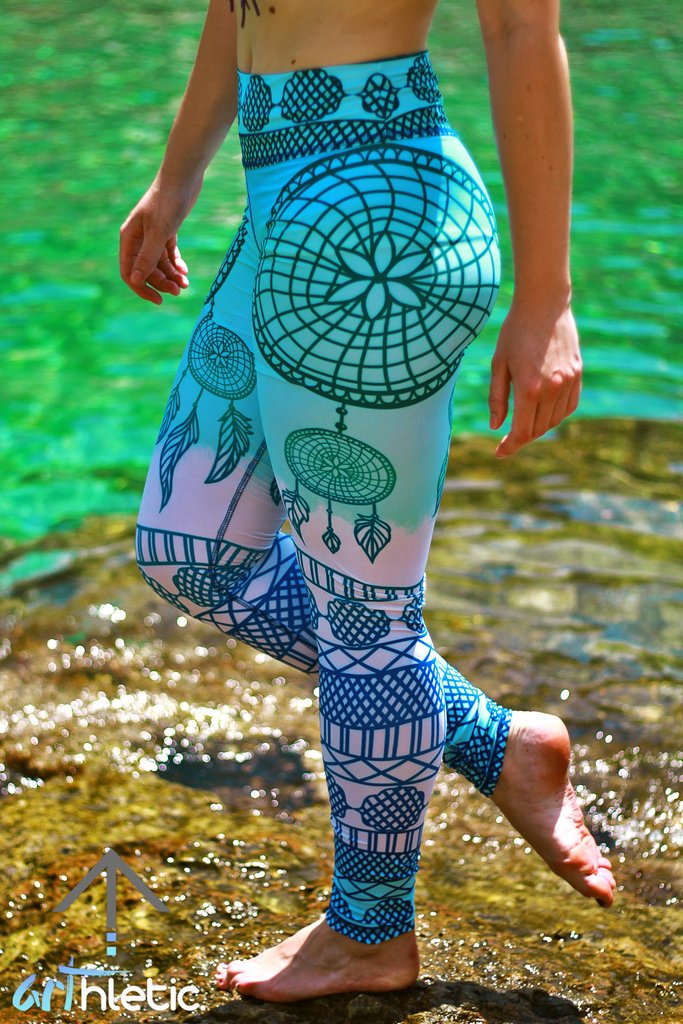 Free Spirit Leggings - Arthletic Wear