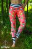 Coral Popsicles Leggings