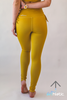 Lena Leggings- Mustard Yellow