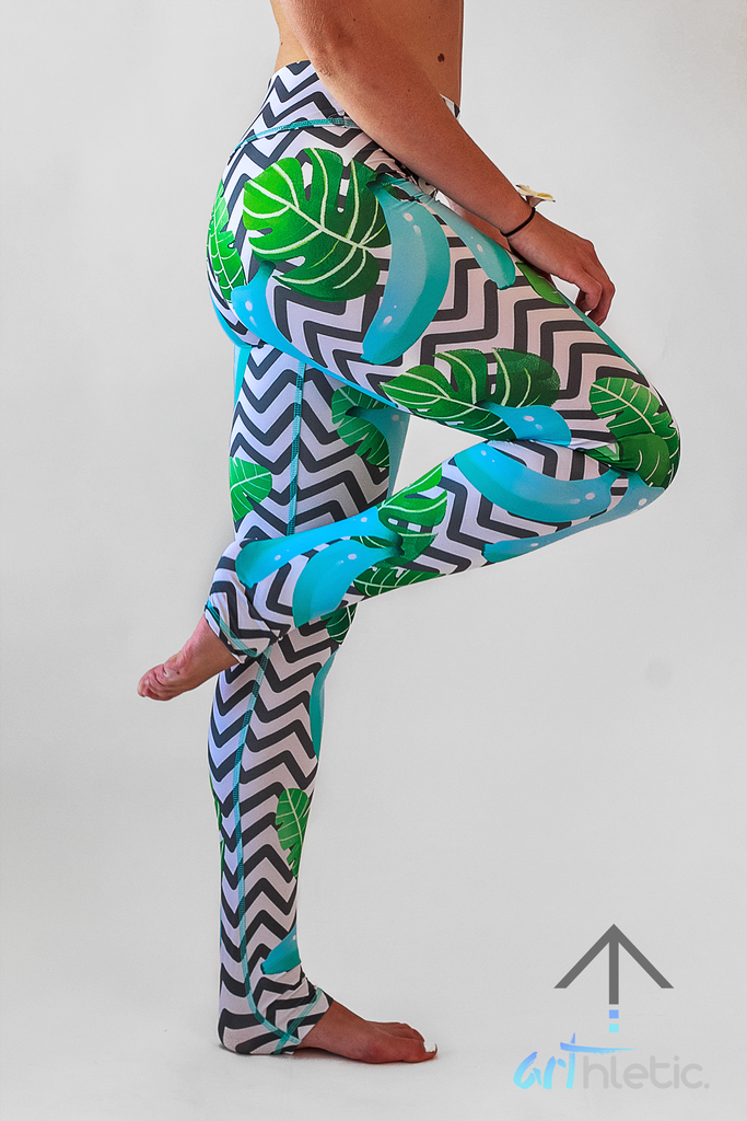Tulum Leggings by arthletic-wear.myshopify.com I Leggings I