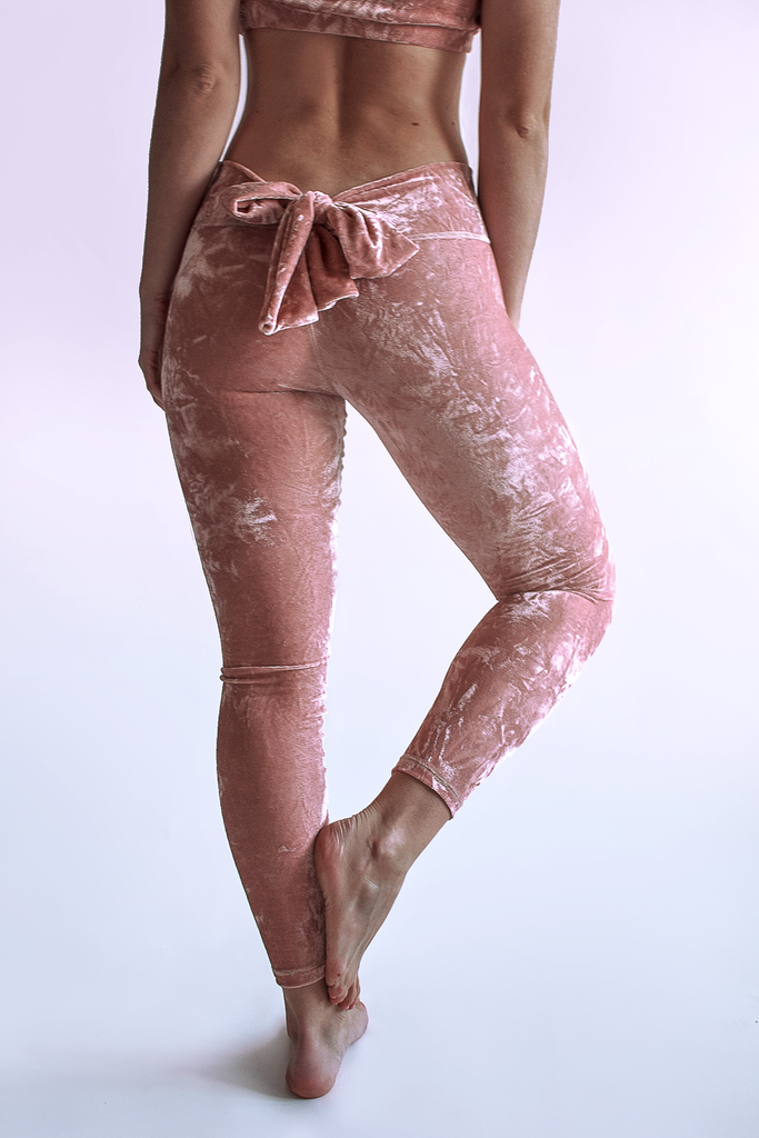Luz Kimono Leggings - Rose Quartz - Arthletic Wear