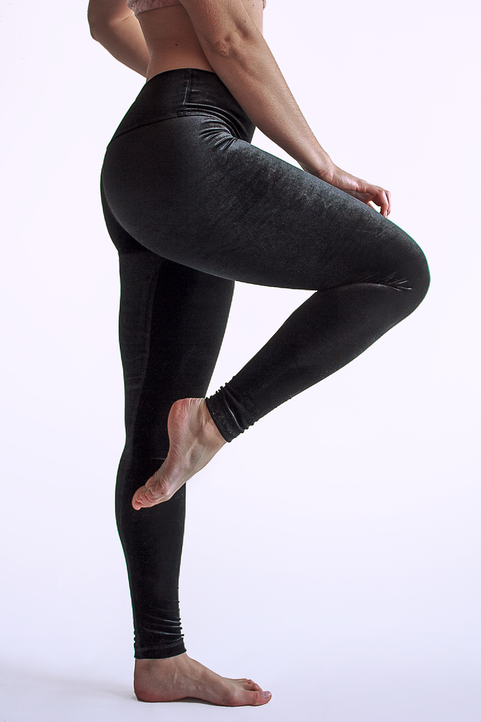 Holly Leggings - Obsidian - Arthletic Wear
