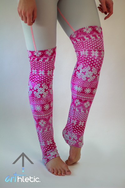Rose Leg Warmers - Arthletic Wear - 1