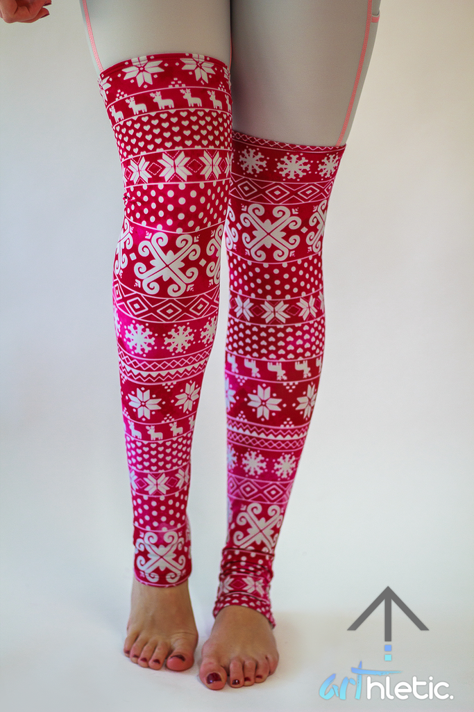 Berry Leg Warmers - Arthletic Wear
