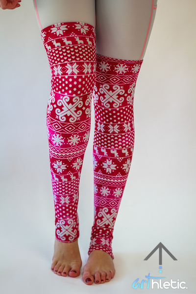 Berry Leg Warmers - Arthletic Wear - 1