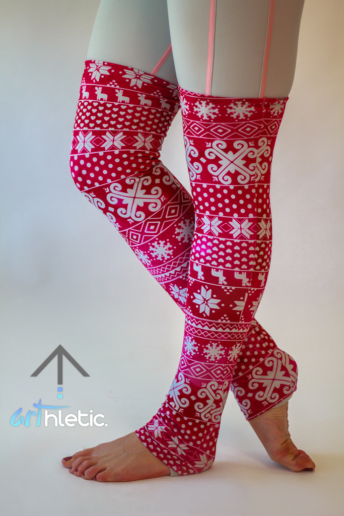 Berry Leg Warmers - Arthletic Wear - 2