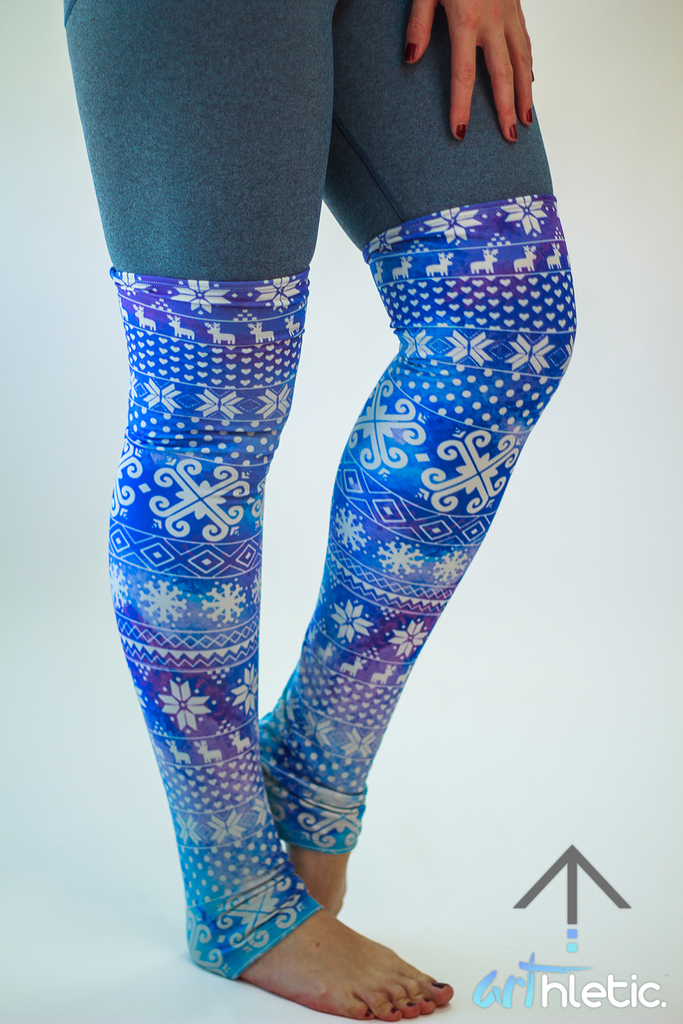 Frosty Leg Warmers (S, M) - Arthletic Wear