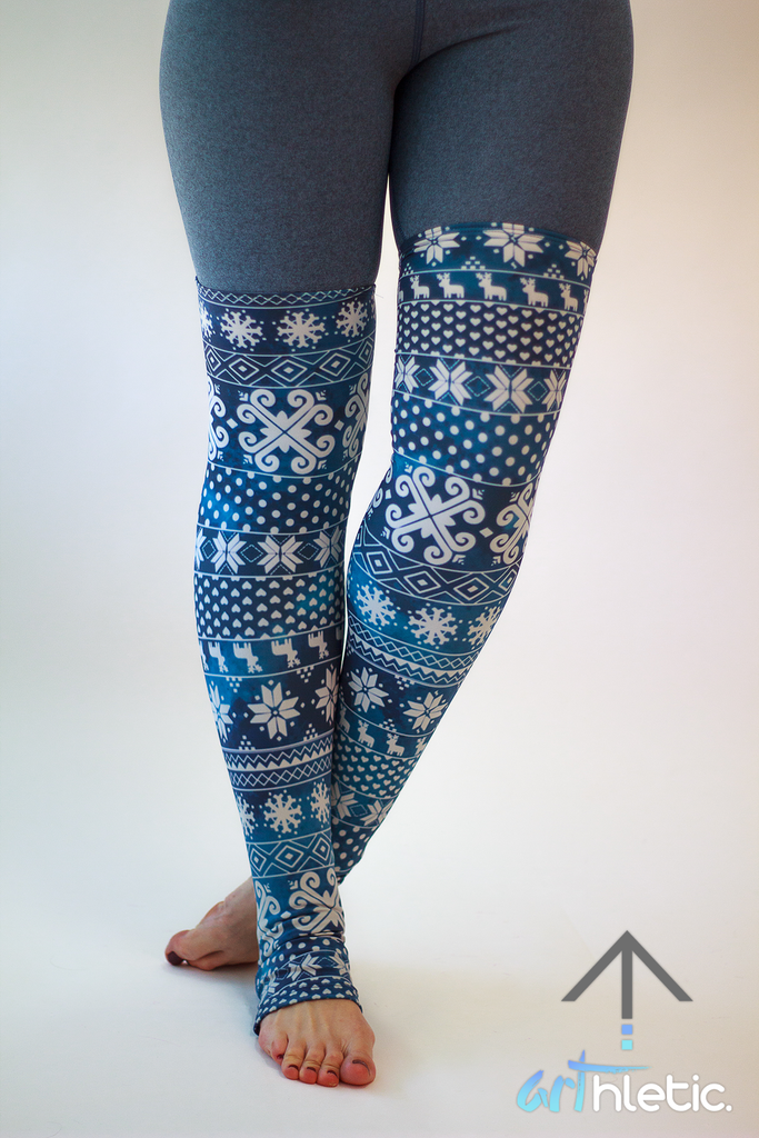 Midnight Leg Warmers - Arthletic Wear