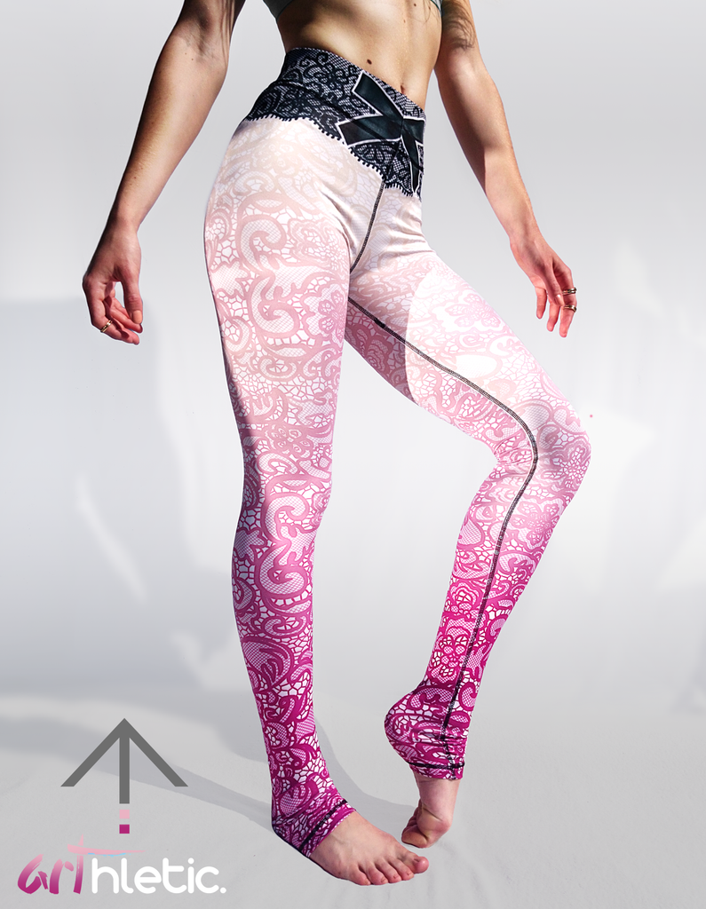 Lace Leggings - Arthletic Wear