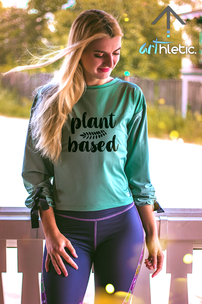 Plant Based Long Sleeve Top by arthletic-wear.myshopify.com I Long Sleeve Top I