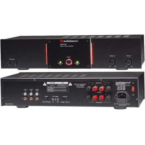 2-Channel-50-Watt-Audio-Distribution-Power-Amp-with-12-Volt-Trigger-AOSAMP102