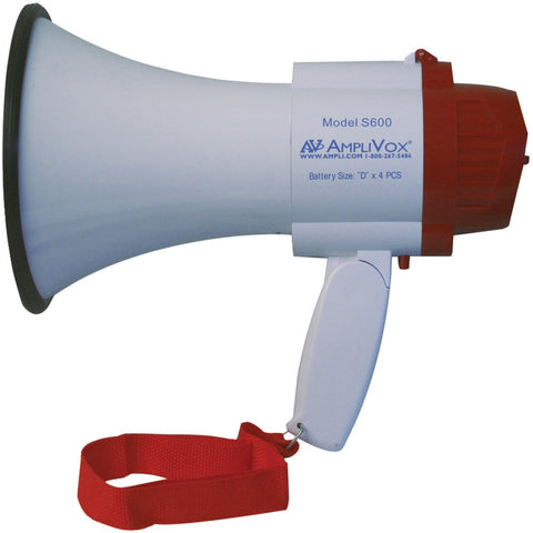 Mini-Meg-10-Watt-Megaphone-(Li-Ion-Compatible)--10W--Effective-range:-100-yards--Ultra-lightweight