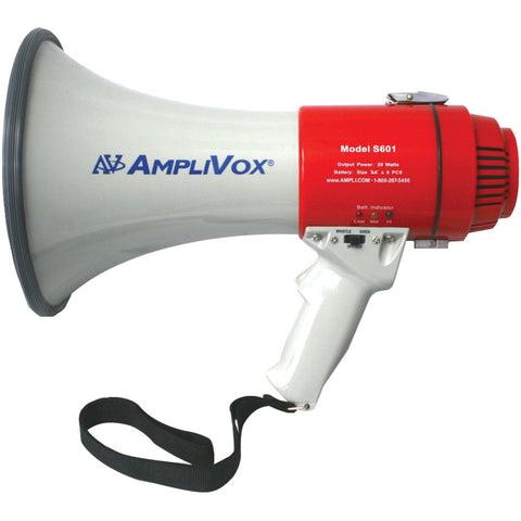 Mity-Meg-15-Watt-Megaphone-(Li-Ion-Compatible)--15W--Effective-range:-900-Yards--Battery-indicator-lights-shows-power-status