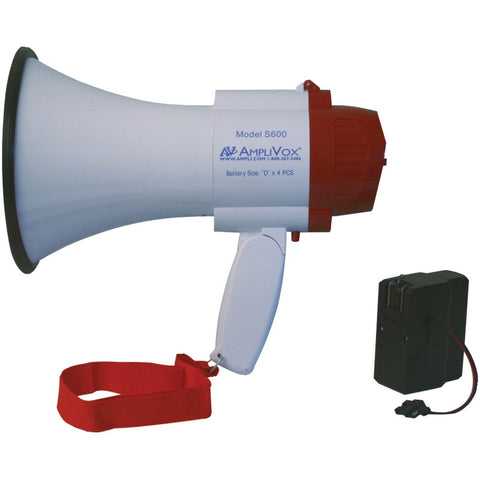 Mini-Meg-10-Watt-Megaphone-(Bundled-with-rechargeable-battery)--10W--Effective-range:-100-yards--Siren-function