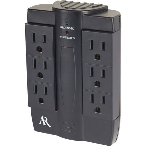 6-Outlet-Swivel-In-Wall-Surge-Protector-ARAS6