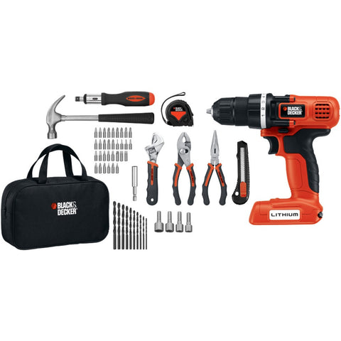 56-Piece-7.2-Volt-Drill-Project-Kit-7.2V-lithium-drill-54-piece-hand-tool-&-accessories-kit-LDX172PK