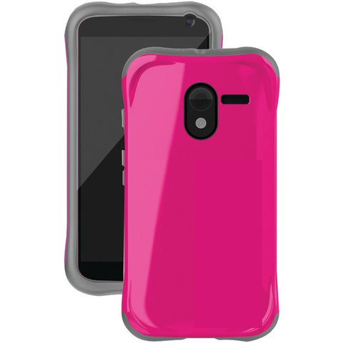 Moto-X-TM-by-Motorola-Aspira-Series-Case-Raspberry-Pink-Charcoal-Gray-BLCAP1187A015