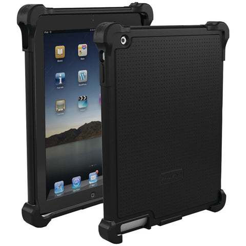 iPad(R)-with-Retina(R)-display/iPad(R)-3rd-Gen/iPad(R)-2-Tough-Jacket(TM)-Case-(Black)--Fits-iPad(R)with-Retina(R)display/iPad(R)-3rd-Gen/iPad(R)-2--Reinforced-corner-protection--Impact-resistant-polycarbonate-shell
