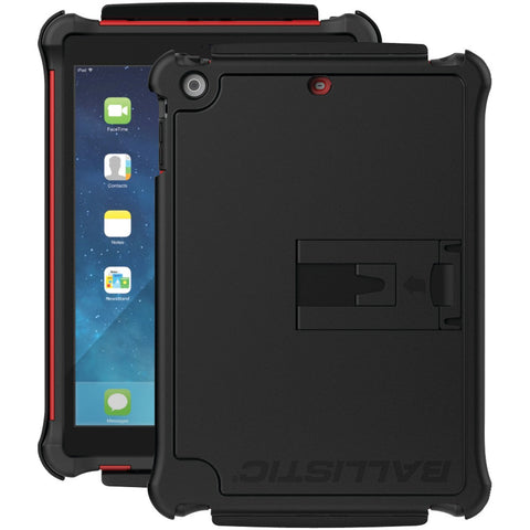 iPad-Air(TM)-Tough-Jacket(TM)-Case-(Red/Black)--Fits-iPad-Air(TM)--Reinforced-corner-protection--Impact-resistant-polycarbonate-shell