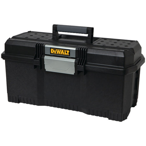 "24""-One-Touch-Tote-Box-1-handed-latch-operation-allows-opening-when-other-hand-is-occupied-Integrated-water-seal-to-help-protect-from-water-&-dust-DWST24082"