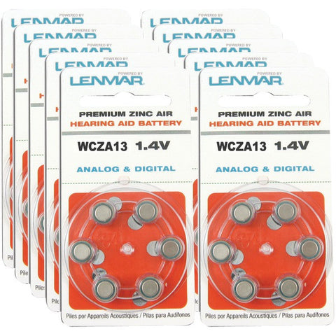 ZA13-Premium-Zinc-Air-Hearing-Aid-Batteries-60-pk-LENHZA1360