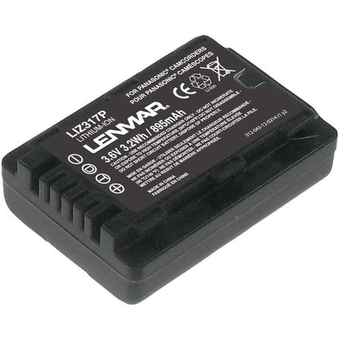 Panasonic-VW-VBL090-Camcorder-Replacement-Battery-LENLIZ317P