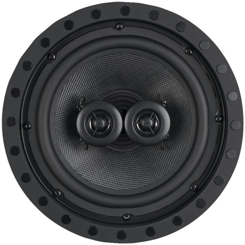 "8""-2-Way-Kevlar-Series-Dual-Voice-Coil-Single-Point-Stereo-Frameless-In-Ceiling-Wall-Loudspeaker-OEMSC822F"