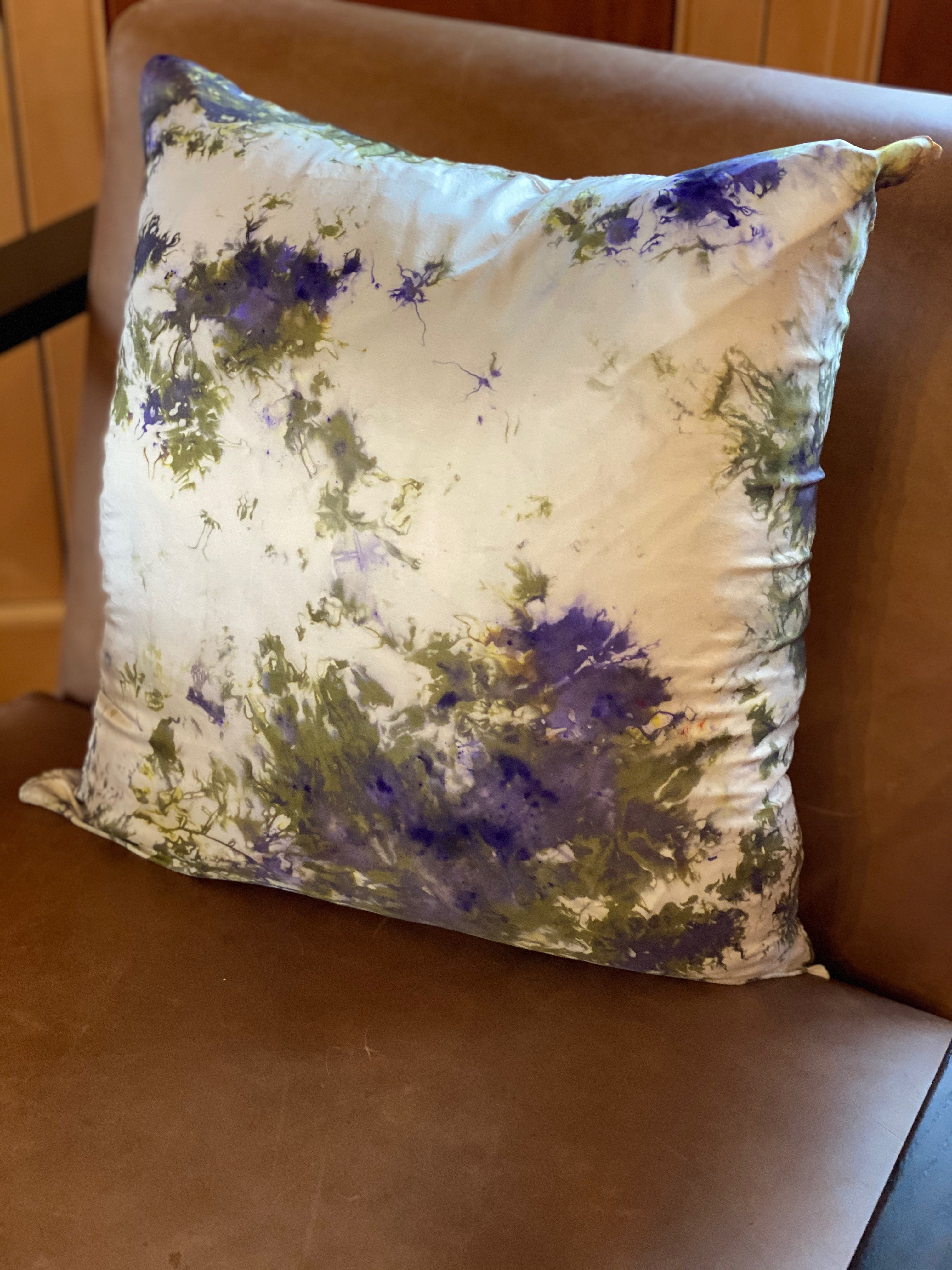 Throw Pillow Silk Covers (set of two)