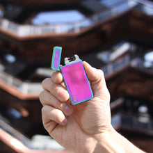Load image into Gallery viewer, Rainbow Dual Arc Lighter